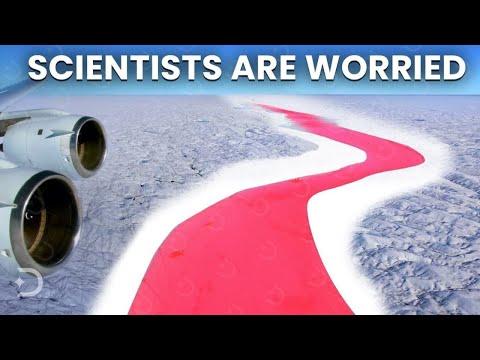 Strange Anomaly Happening In Antarctica!