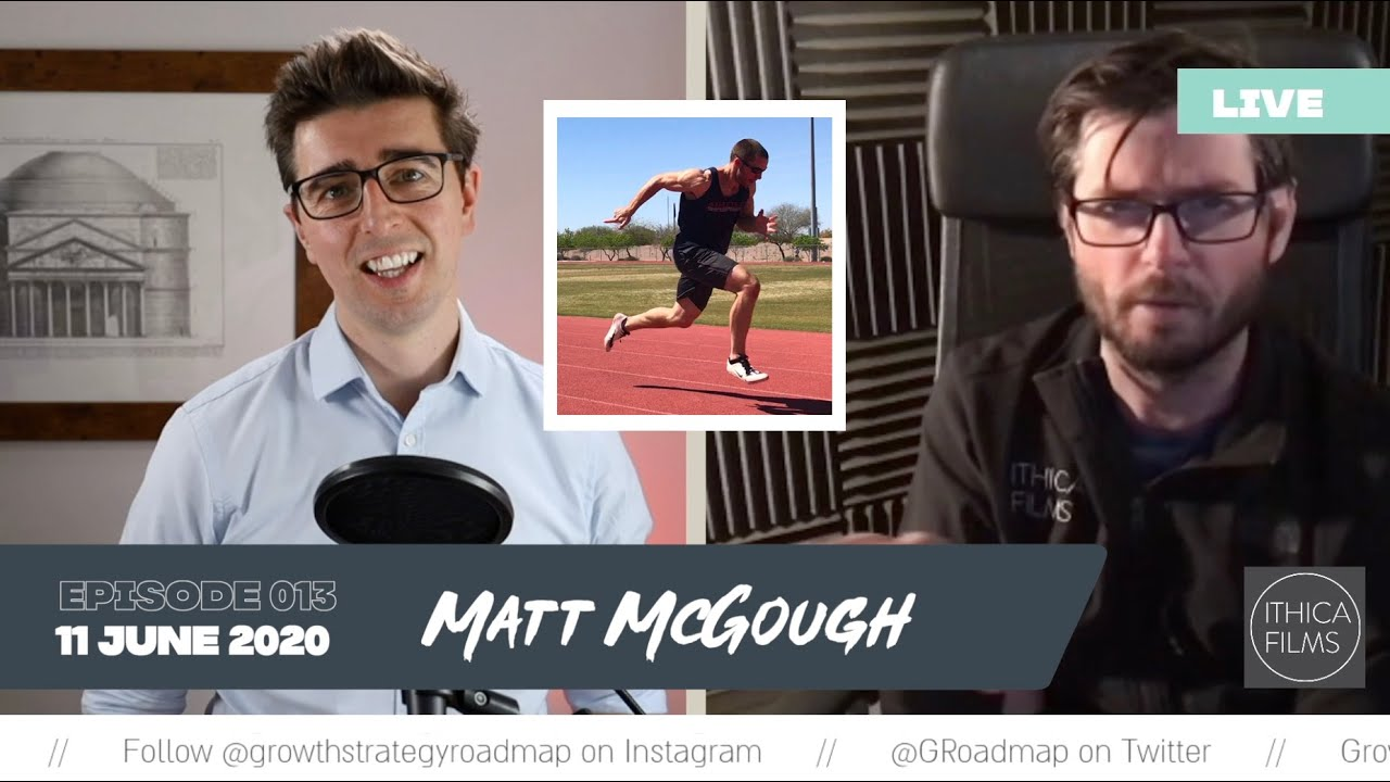 You don't need to sprint! Matt McGough, Ithica Films