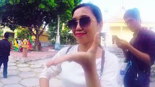 HOT Girl An Giang Dẫn Đi Chùa Bánh Xèo Và Dự Tết Khmer