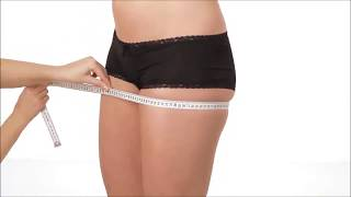 How to measure the hip girth. Как правильно определить обхват бедер. Блузка бай / Blyzka.by