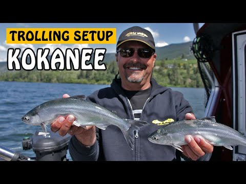KOKANEE TROLLING SETUP EXPLAINED | Fishing With Rod