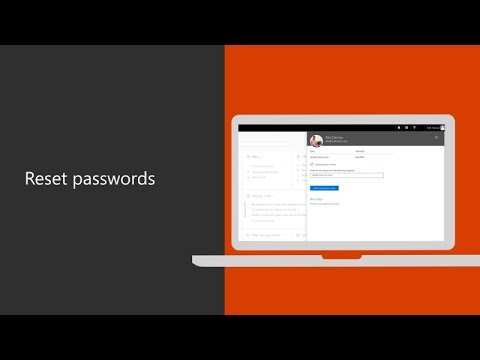 Reset Passwords With Office 365 For Business