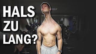 Der längste Hals der Welt?   Tim bewertet meine Form