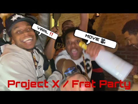 TRIP TO MORRISVILLE STATE COLLEGE PT. 2 - PROJECT X / FRAT PARTY
