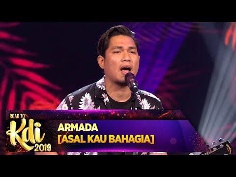 Download lagu Penonton Sampe Ada Yang Nangis, Armada [ASAL KAU BAHAGIA] - Road To KDI 2019 (3/7) Mp3 gratis