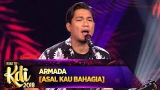 Download Penonton Sampe Ada Yang Nangis, Armada [ASAL KAU BAHAGIA] - Road To KDI 2019 (3/7)