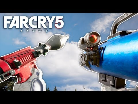 Far Cry 5 - UPGRADING THE GUIDED RPG (Far Cry 5 Free Roam) #10