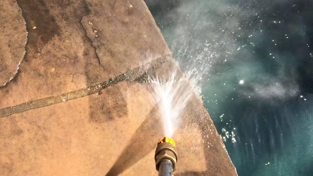 How To Clean Stone Patios   Environmentally Friendly