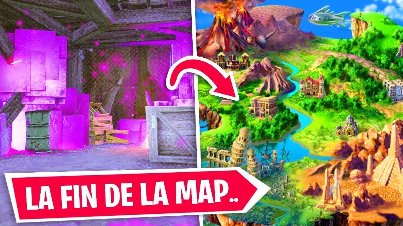 Une Nouvelle Map Sur Fortnite A La Saison 7 Grosse Annonce
