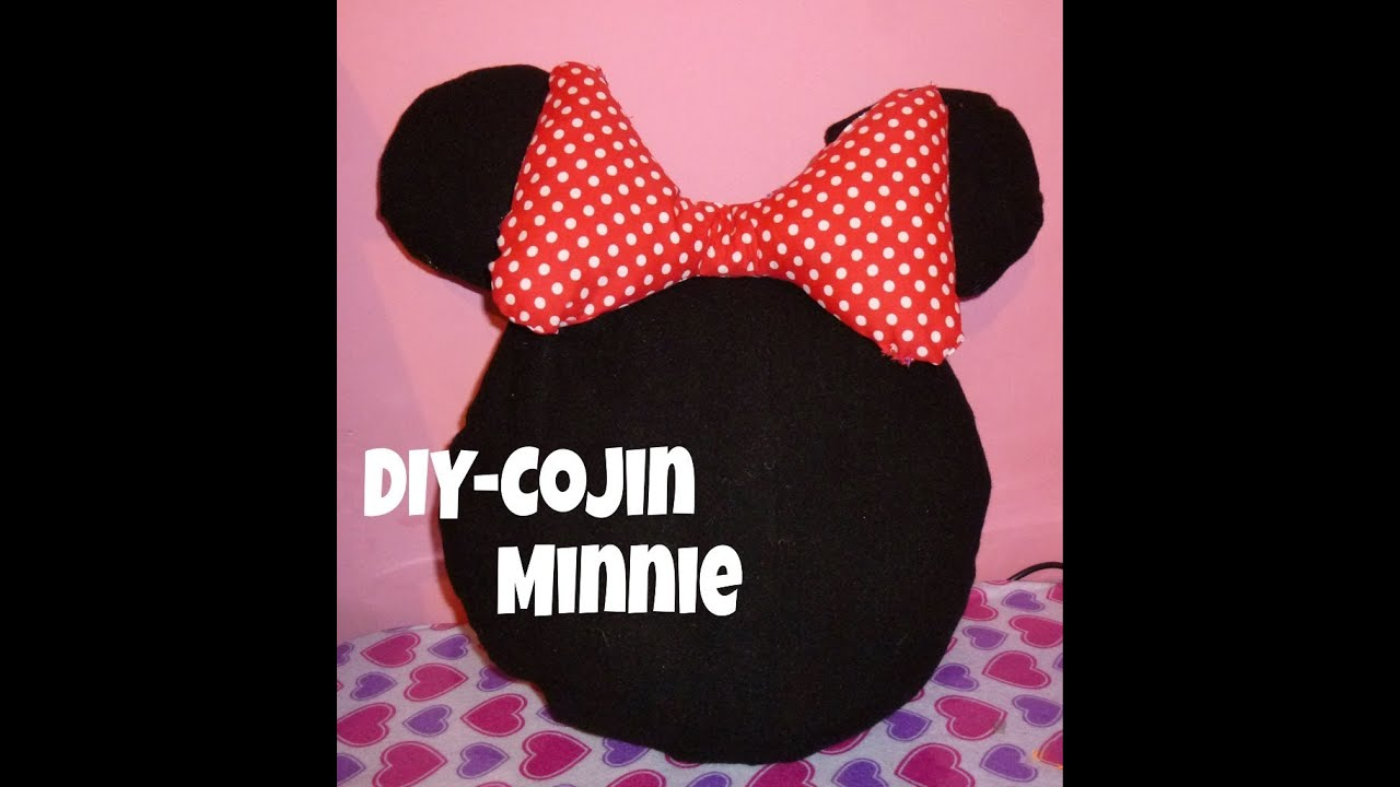 diy cojin de minnie