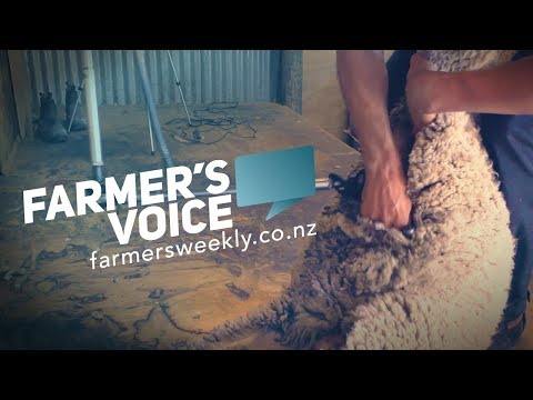 Farmer's Voice: Shearing tips from world title holder