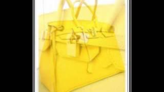 Birkin borsa bag classic lusso gialla lucchetto oro DELUCA&PELLI MILANO