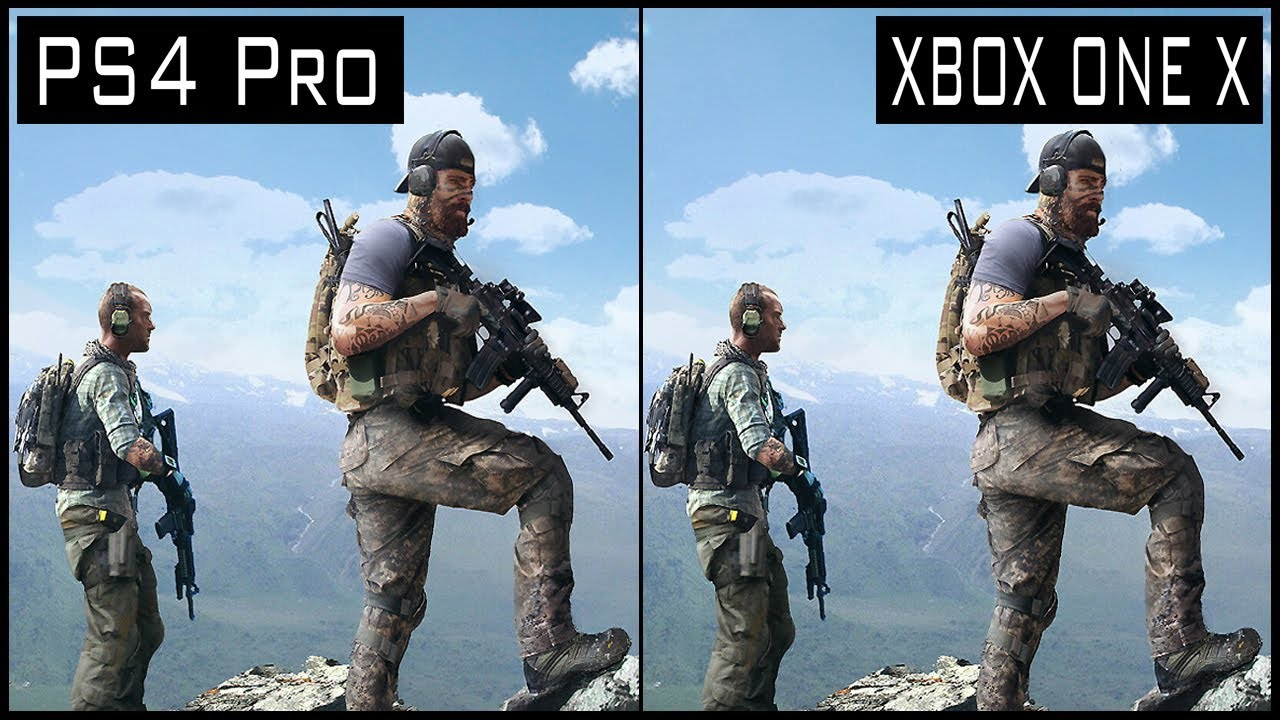 Ghost Recon Wildlands Xbox One X vs PS4 Pro Graphics ...Xbox One X Vs Ps4 Pro Graphics