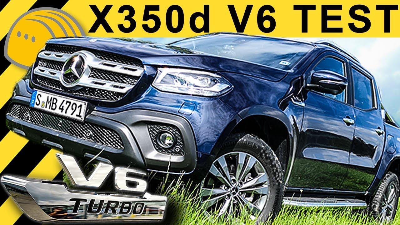 X Klasse X350d V6 Test Fahrbericht 258 Ps 550nm 2018 Mercedes Amarok Gegner