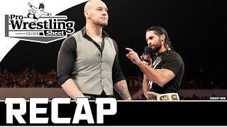 RAW Recap: Seth Rollins Spits Truth + Referee Heath Slater & AOP Lose Tag Titles