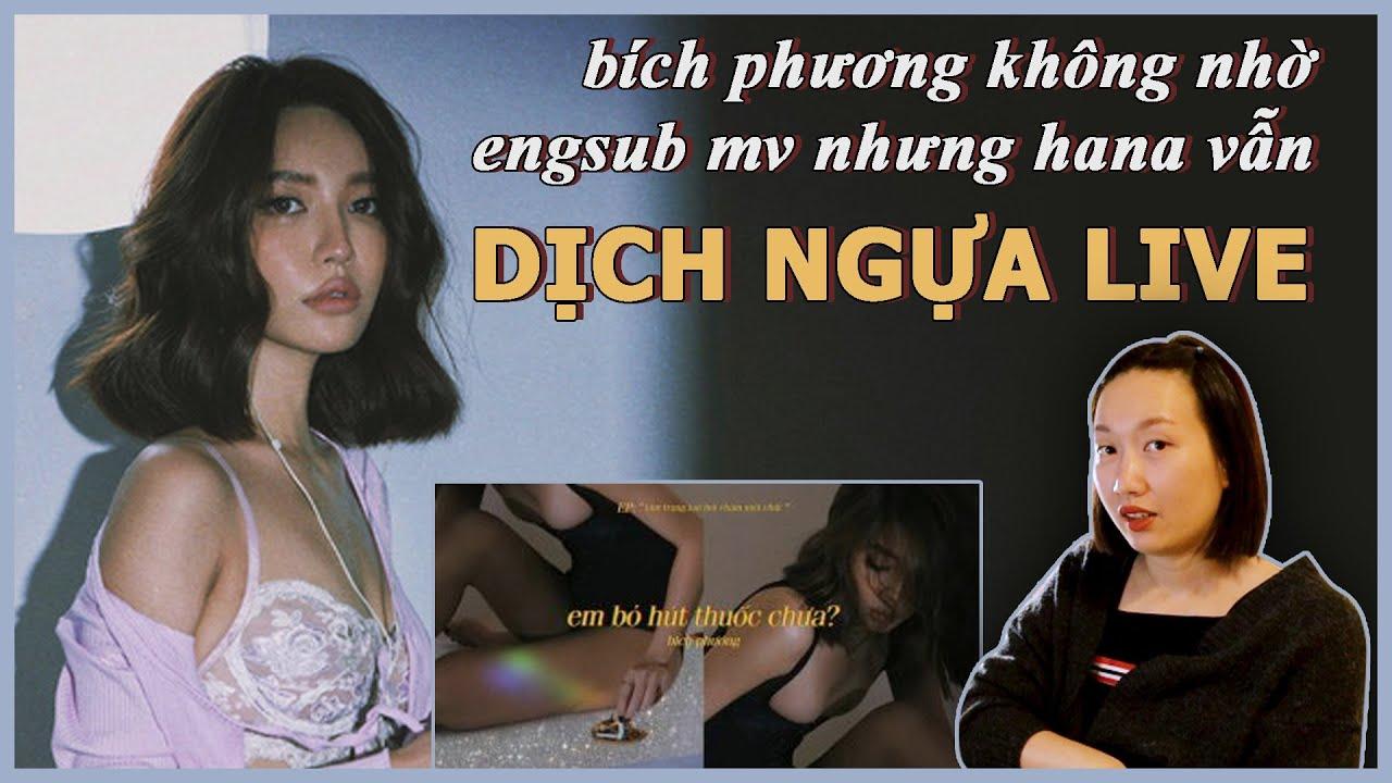 THỬ THÁCH TRONG 1 TIẾNG DỊCH NGỰA HỎI @BICH PHUONG BỎ THUỐC CHƯA | GIVEAWAY CHO PHÁI ĐẸP TRỖI DẬY