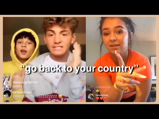 Mikey and Diego EXPOSE Danielle Cohn for being Racist and Lying