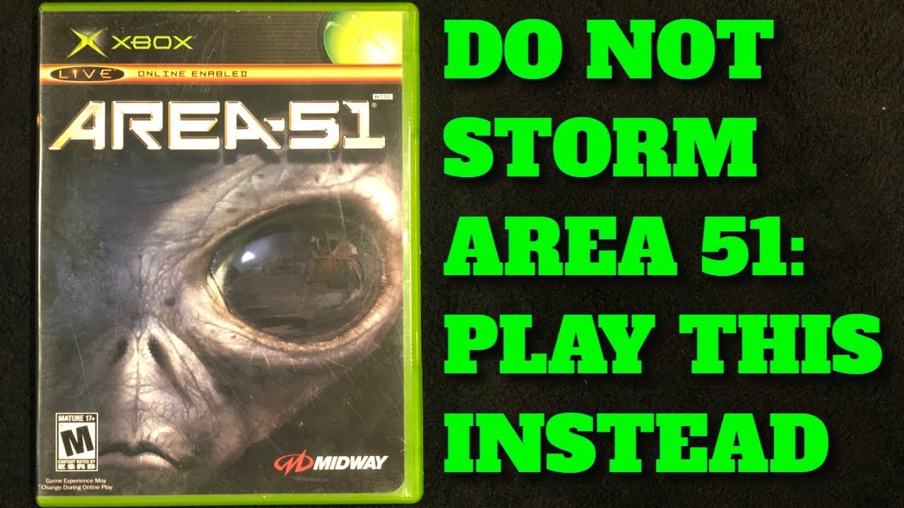 Do Not Storm Area 51: Play This Game Instead