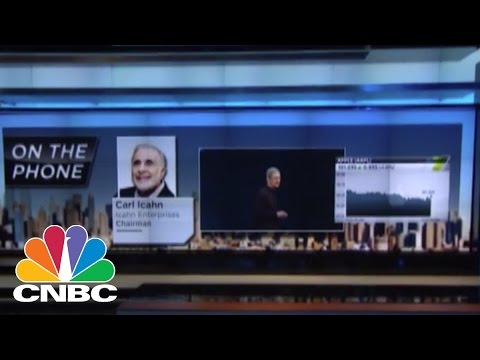 Carl Icahn Takes On Apple, Tim Cook | CNBC