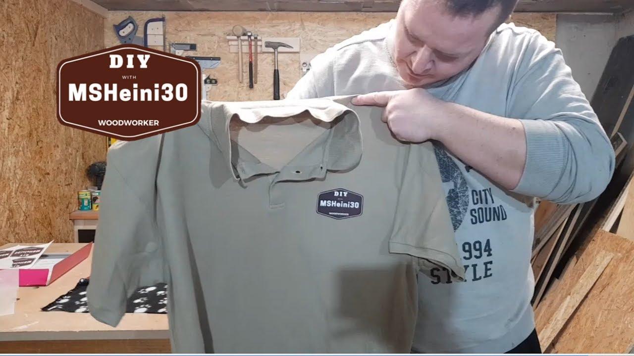 Diy T Shirt Logo Selber Gestalten Und Auf Dein T Shirt Bügeln