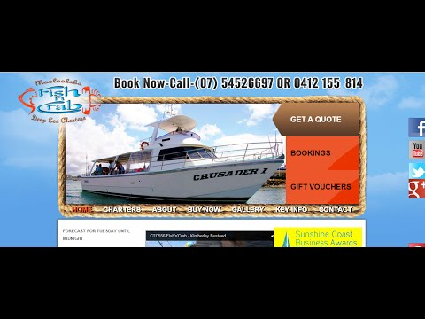 Fish 'n' Crab Deep Sea Charters   REVIEWS   Mooloolaba   Sunshine Coast QLD Fishing Charters Reviews