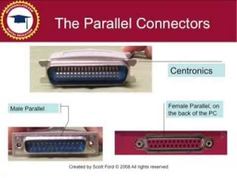 A+ Computer Certification- Connections and Ports