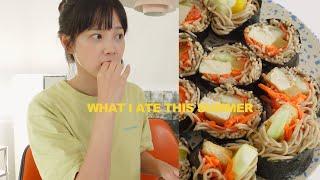 애정하는 여름 메뉴, 건강하고 맛있는 메밀 김밥 만들었어요💙