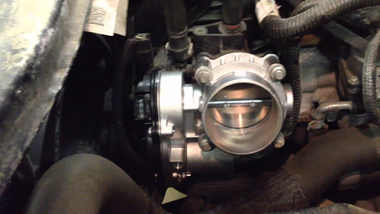 2009 2012 Ford Escape Electronic Throttle Body Replacement