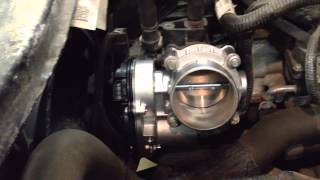 2010 Ford Escape Electronic Throttle Body Replacement