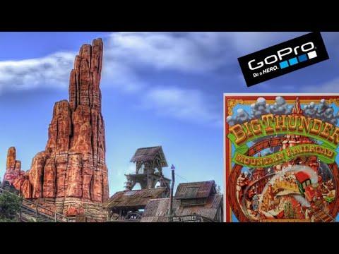 Train de la mine go pro Disneyland paris (BTM) 2014