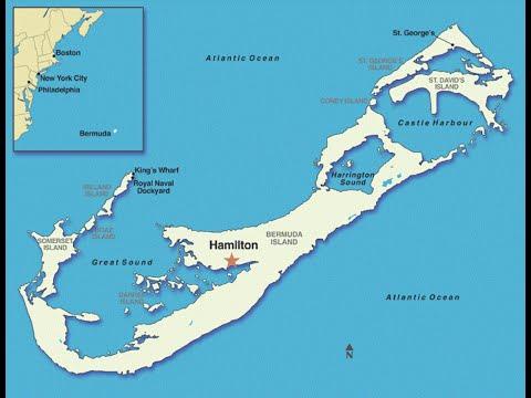 Hamilton: Walking in Downtown Hamilton, Bermuda | Video Driving Worldwide