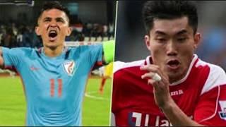 India vs China football match highlights| as a news