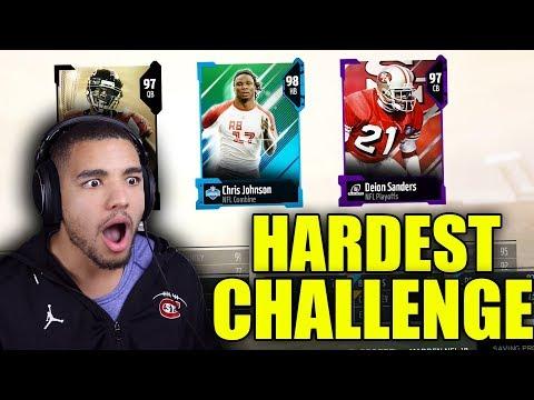 HARDEST DRAFT CHALLENGE EVER!! MADDEN 18 DRAFT CHAMPIONS