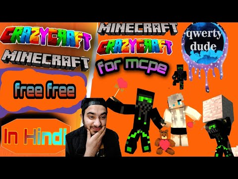 Crazy Craft In Minecraft Pocket Edition | Download Crazy Craft In Minecraft Pocket Edition  In Hindi