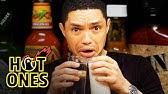 Trevor Noah Rides a Pain Rollercoaster While Eating Spicy WingsHot Ones