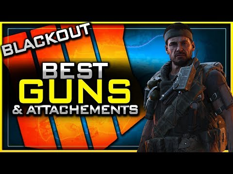 Best Guns & Attachments in Blackout!