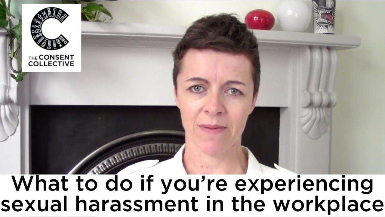 What to do if you're experiencing sexual harassment in the workplace