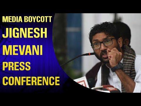 Media Boycott Jignesh Mevani's Press Conference