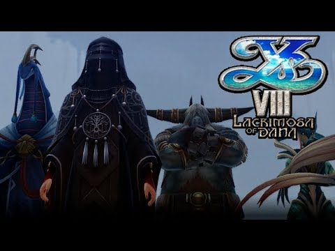 Ys VIII: Lacrimosa of Dana - Boss: Le Erythros / The Protectors of Evolution (Inferno Mode)