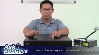 Ask POSGuys - How do I open a cash drawer with no keys?