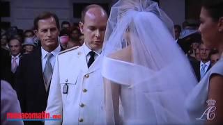 Mariage à Monaco : les larmes de Charlène