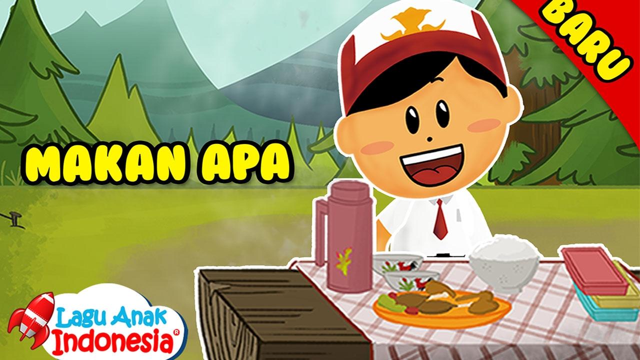 Lagu Anak Anak Makan Apa Lagu Anak Indonesia Nursery Rhymes