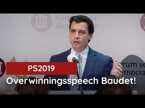 Volledige speech van Thierry Baudet: de Uil van Minerva
