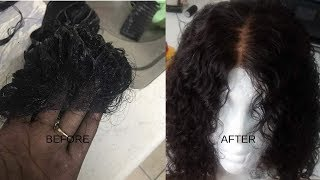 WIG MAKER SECRETS #01 | HOW TO REMOVE HAIR DYE FROM A LACE FRONTAL
