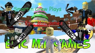 Roblox Epic Minigames Winter Edition! WE'RE PROS! W/ Pen, Clean, Jerry, Bey, and Spongebob