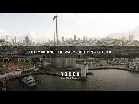 AntMan and The Wasp  VFX Breakdown  Rodeo FX