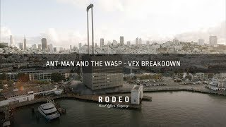 Ant-Man and The Wasp | VFX Breakdown by Rodeo FX