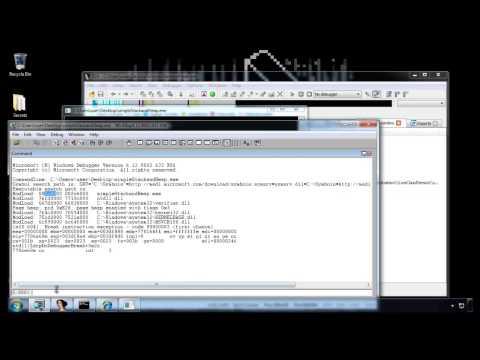 Basic Dynamic Analysis with IDA Pro and WinDBG