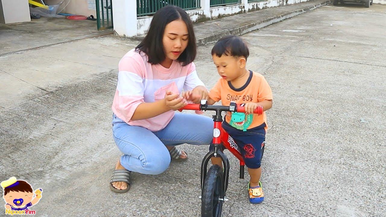 รีวิวรถจักรยานขาไถคันใหม่ | น้องนิปุณ แม่ริน