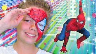 Superhero Face Paint | WigglePop